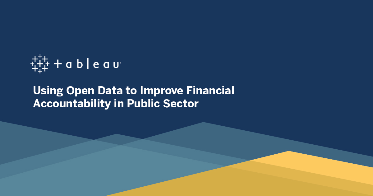image of <p>Using Open Data to Improve Financial Accountability in Public Sector</p>