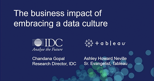 The business impact of embracing a data culture