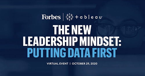 The new leadership mindset: putting data first