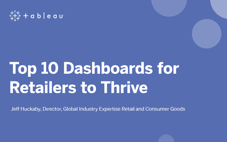 Top 10 Dashboards for Retailers to Thrive