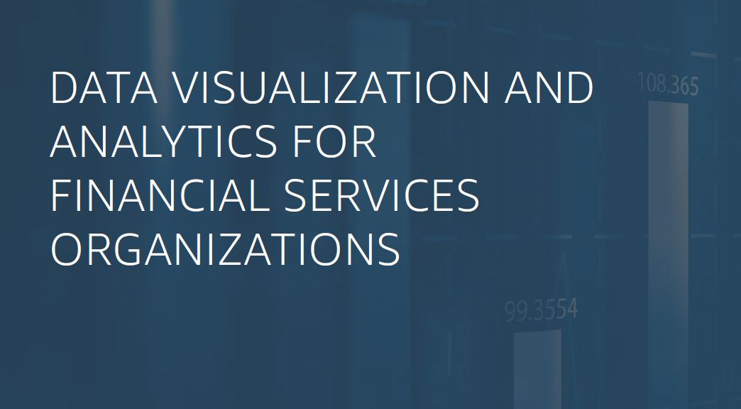瀏覽至 Self-service analytics for financial services organizations
