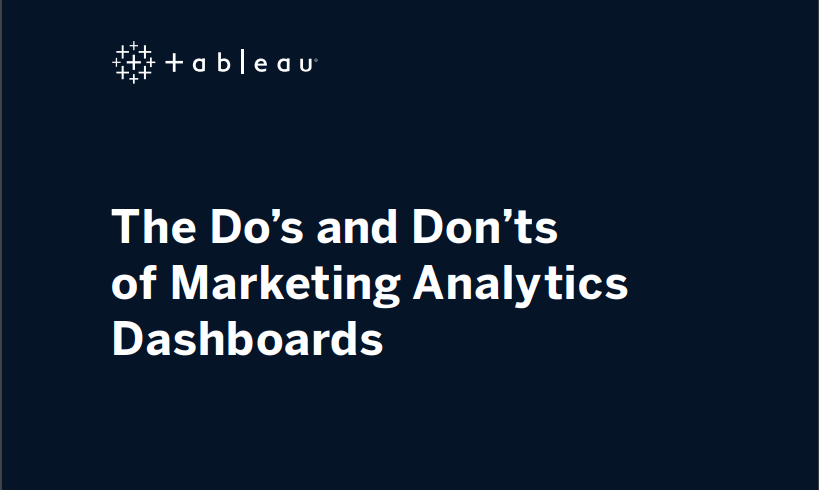 image of <p>The Do's and Don'ts of Marketing Analytics Dashboards</p>
