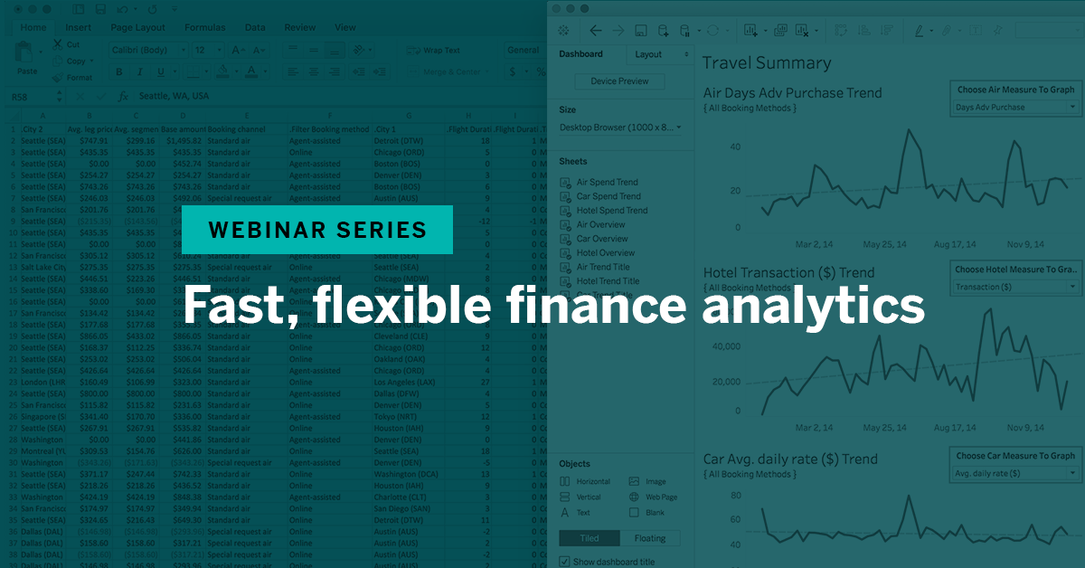 瀏覽至 Fast, flexible finance analytics
