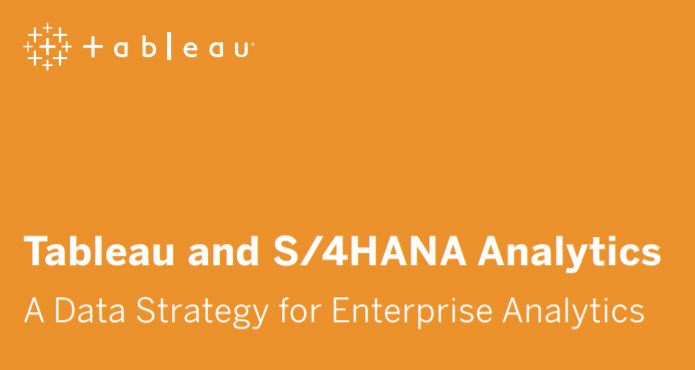 image of <p>Tableau and SAP S/4HANA (Whitepaper)</p>