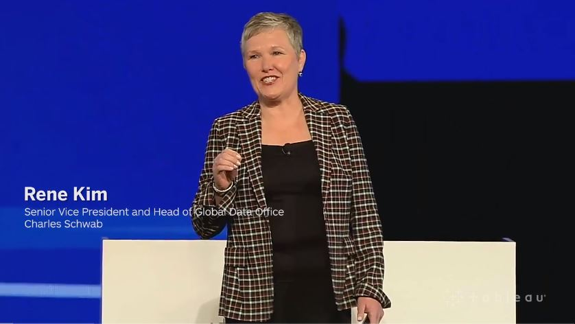 Watch the Charles Schwab keynote from Tableau Conference