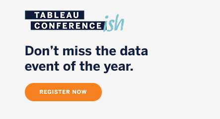 Accéder à Register for Tableau Conference 2020